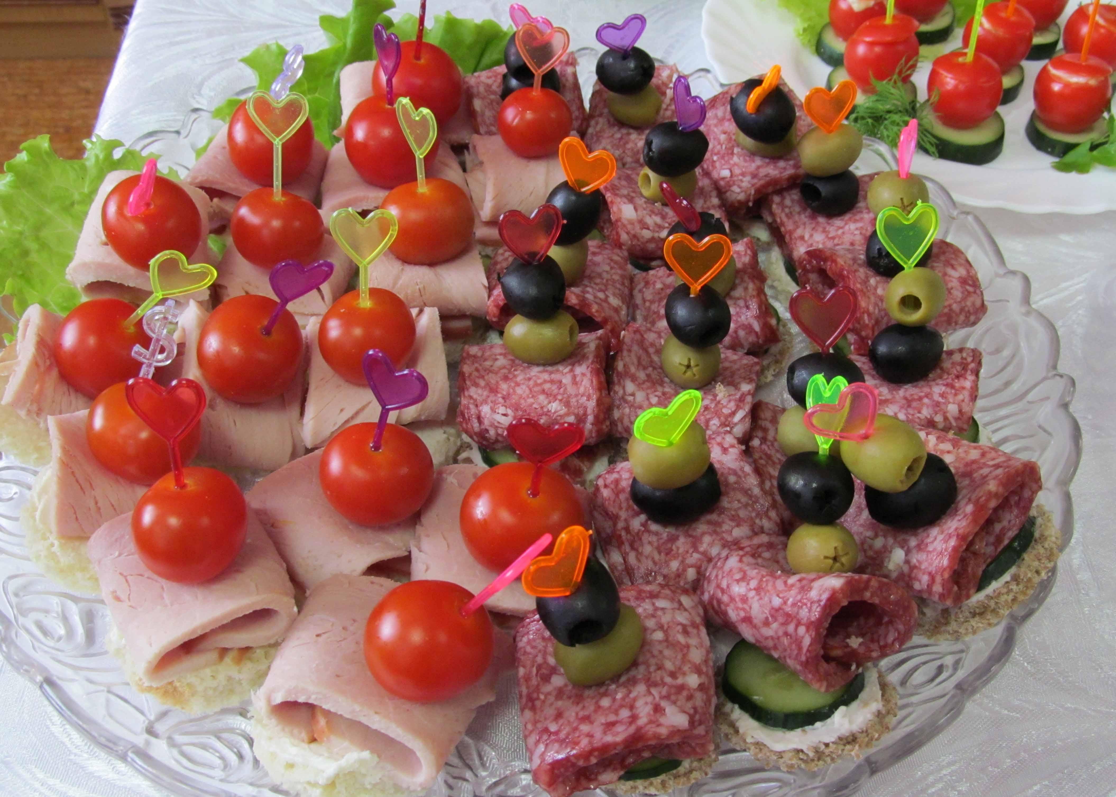 Фрукты на канапе на праздничный стол рецепты в домашних условиях
